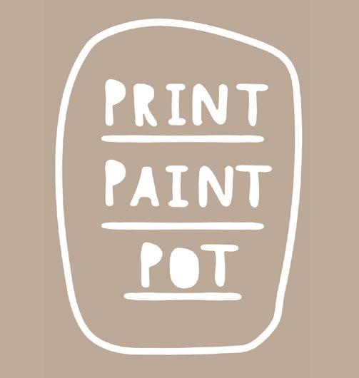 Print Paint Pot