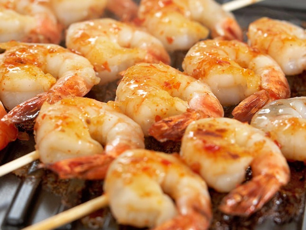 prawns on the bbq