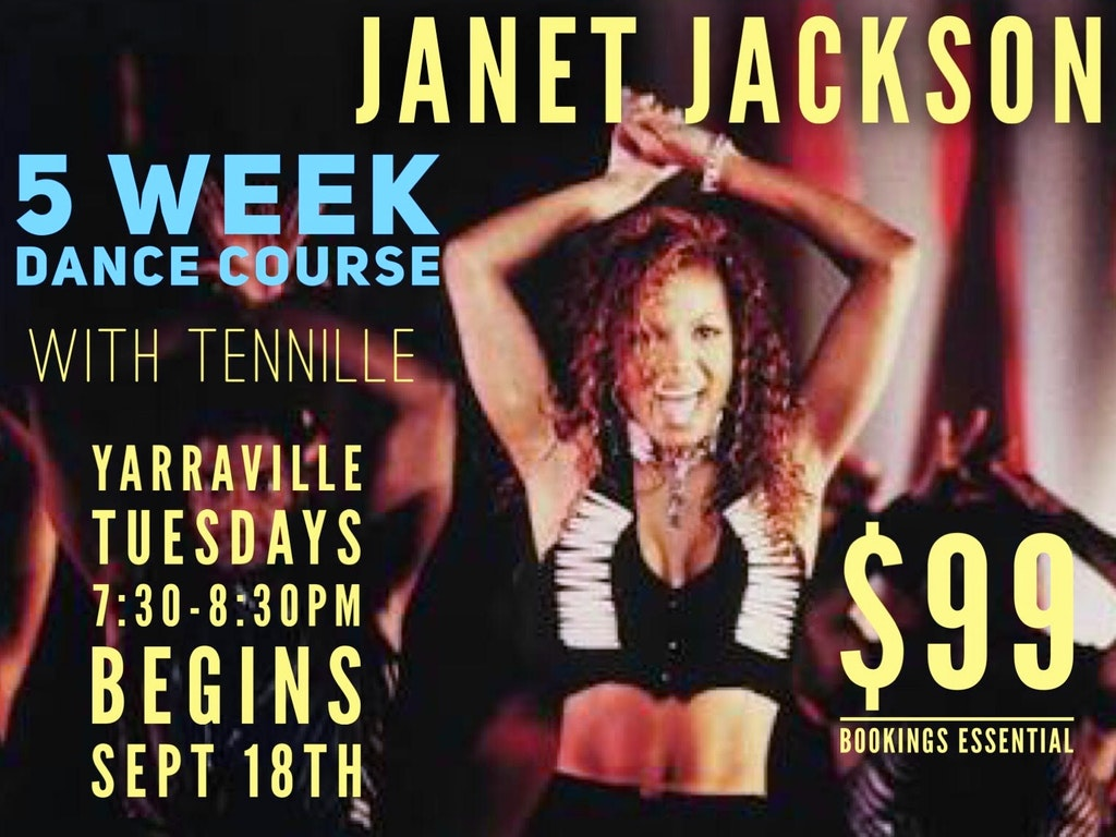 Janet Jackson Course Sept 2018