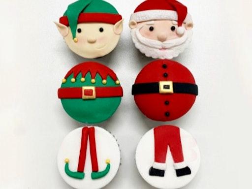 Santa & Elf Cupcakes (Clarence Gardens,SA)