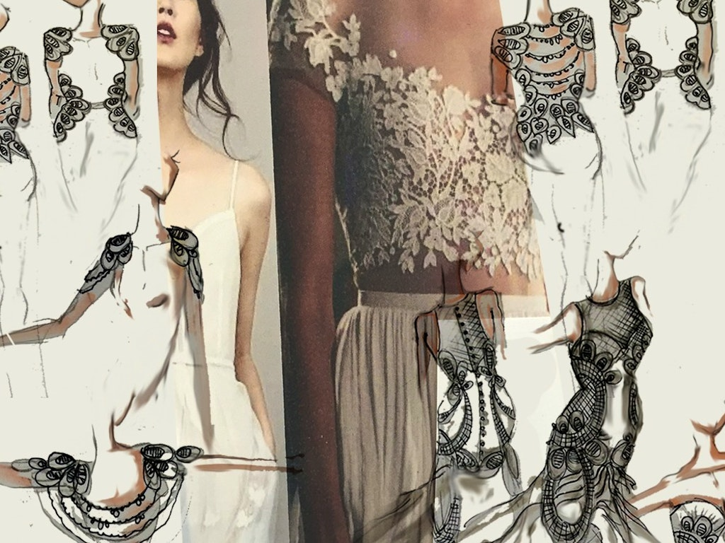Fashion Drawing - Website Cover