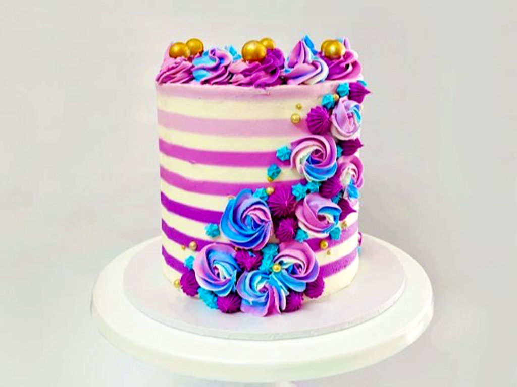 Striped Buttercream WTM