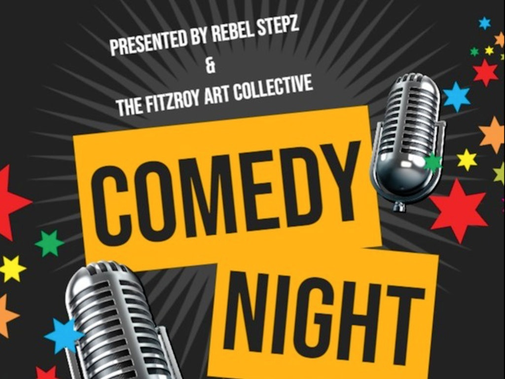 Copy of Comedy Show Flyer - Made with PosterMyWall