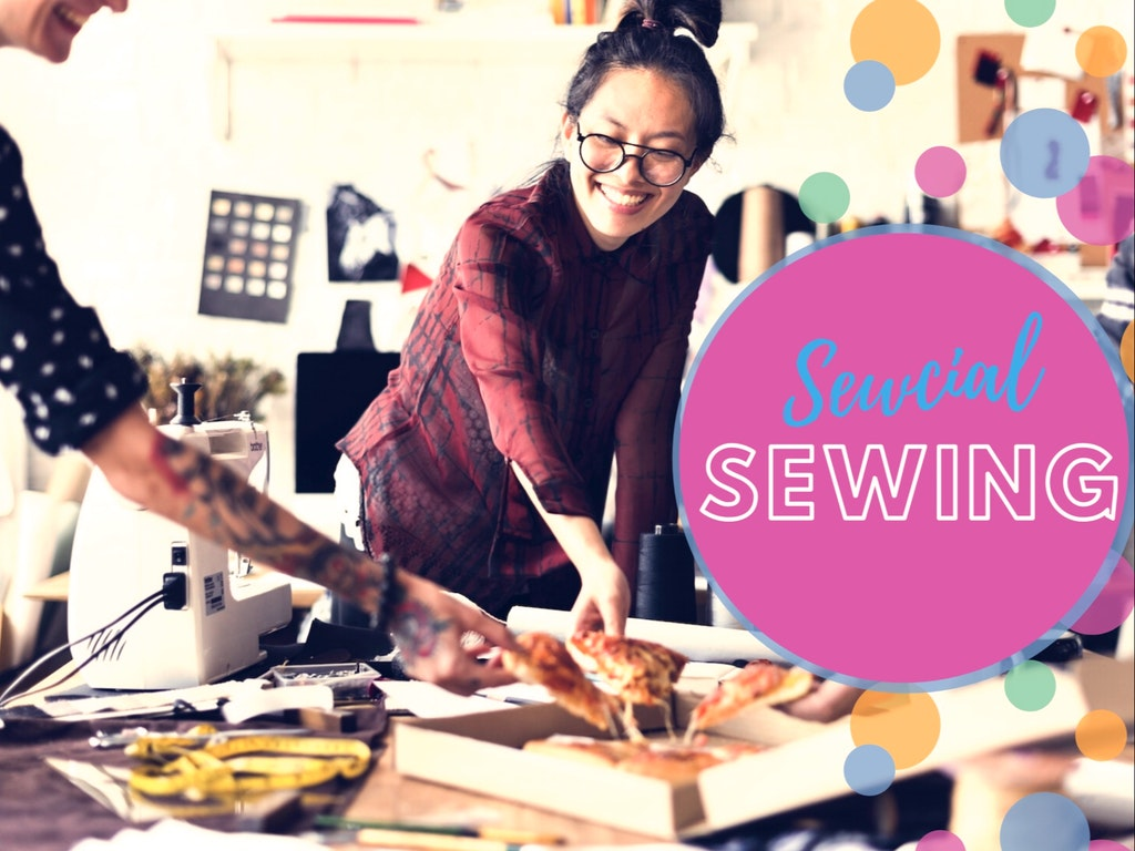 Friday Sewcial Sewing copy