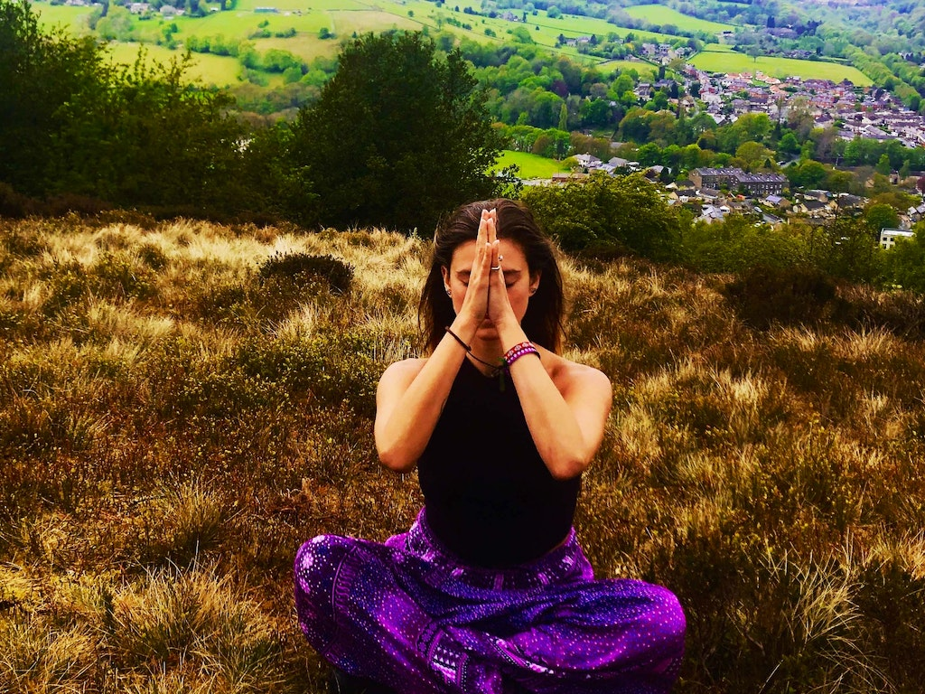 Yin yoga picture