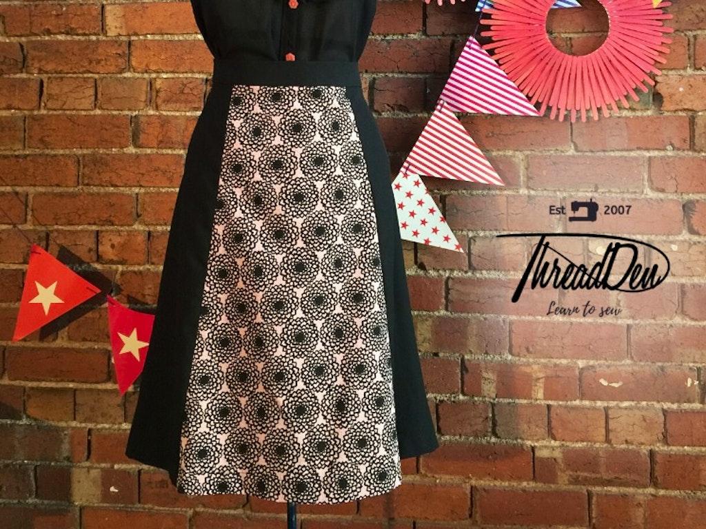 A line skirt squre