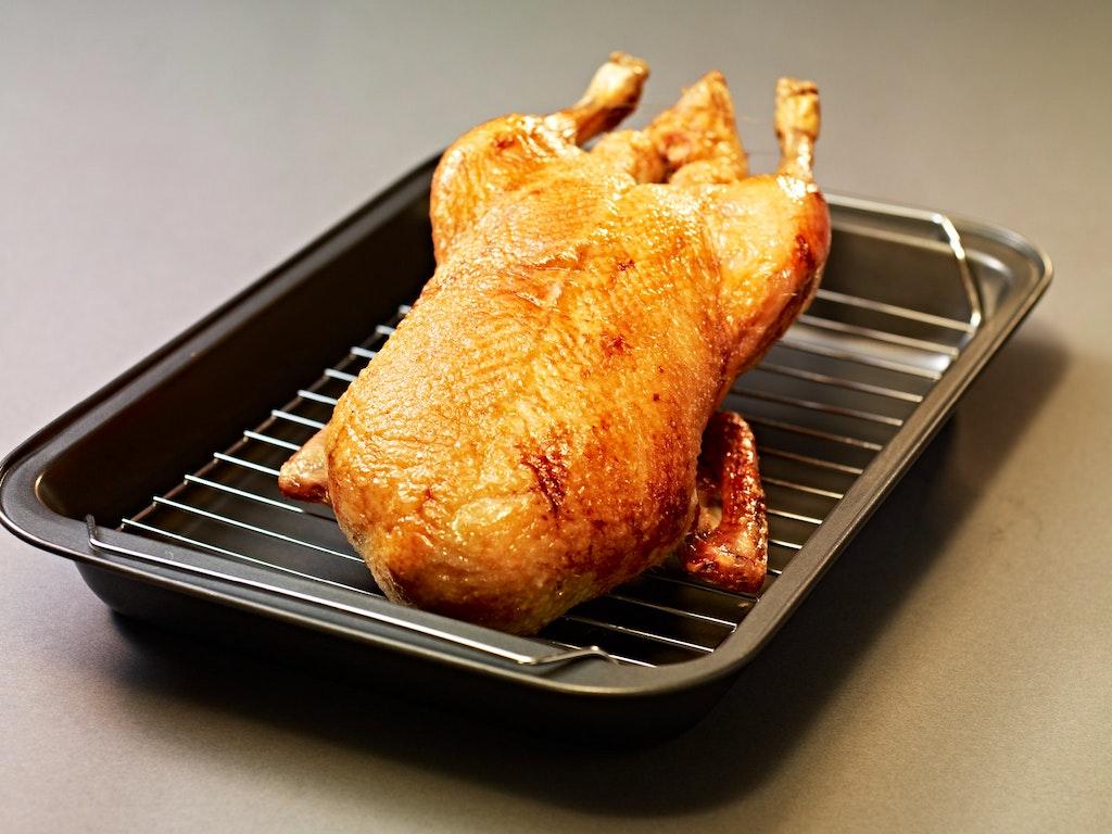 Duck Demystified - caesar salad smoked breast.4