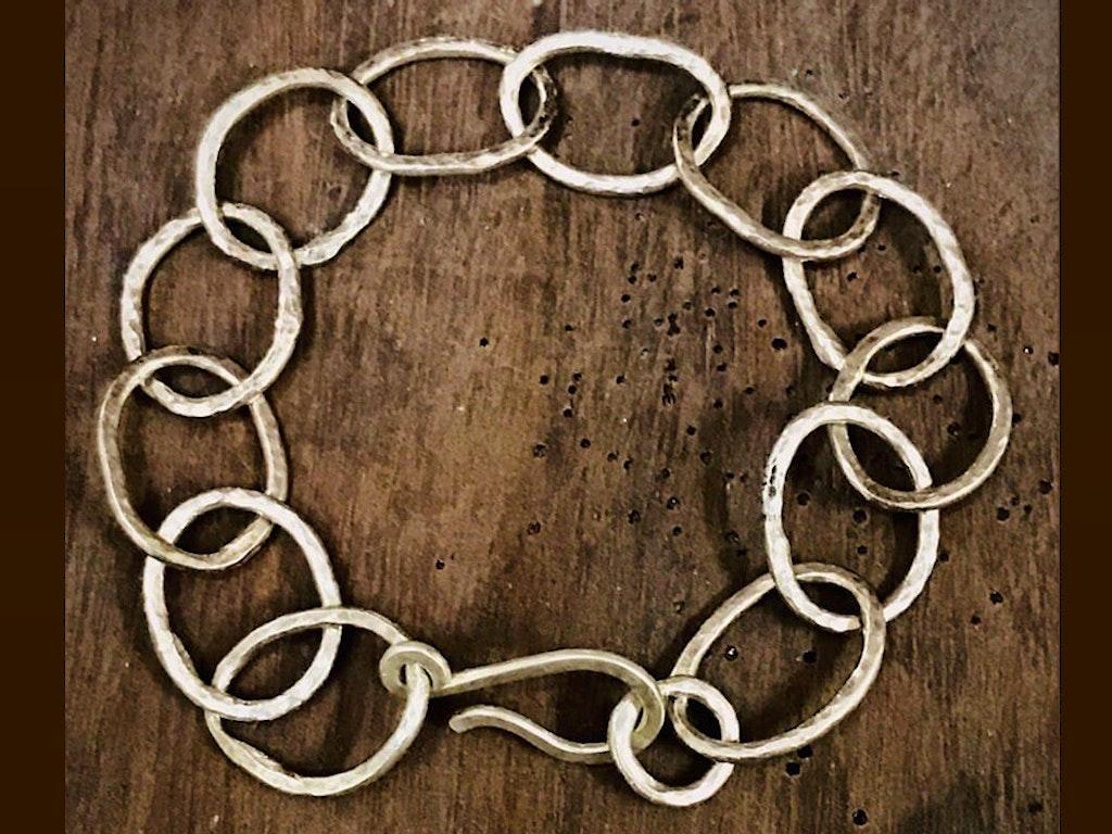 Rustic Fine Silver Fused Bracelet Class