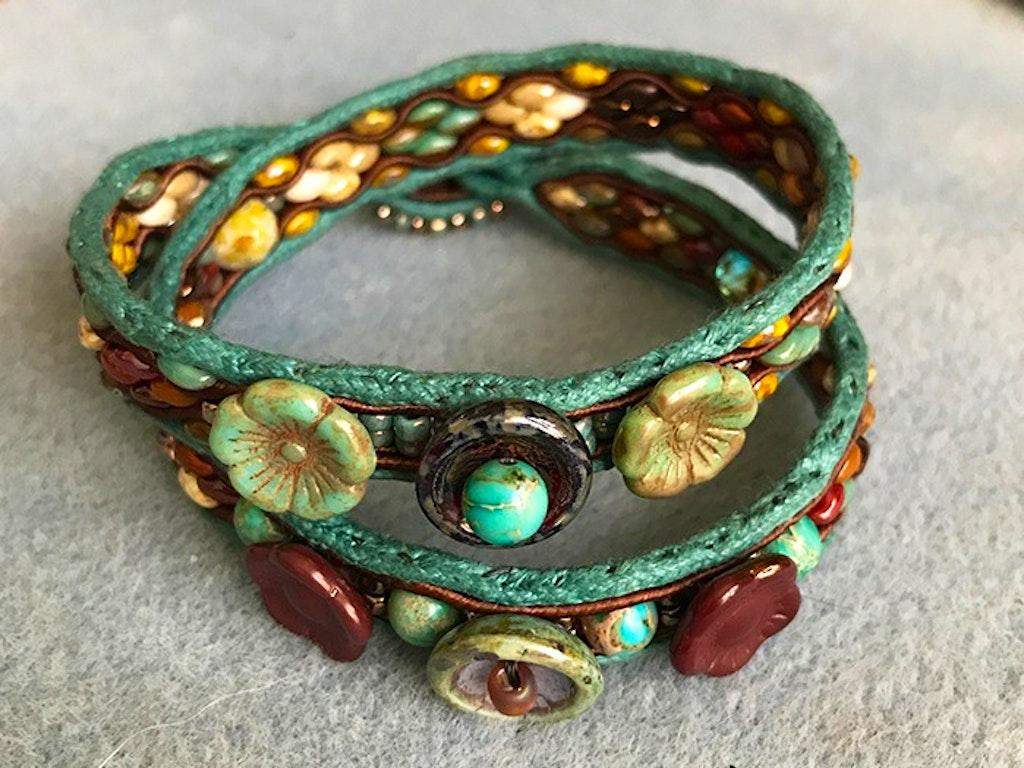 Soutache Wrap Bracelet 02