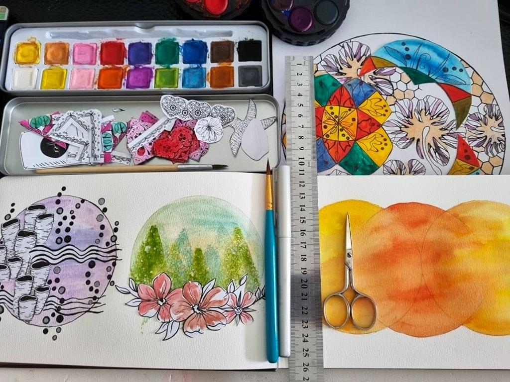 watercolours Lorena