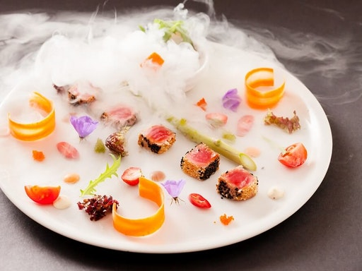 Where there's liquid nitrogen, there's molecularly cooked cuisine