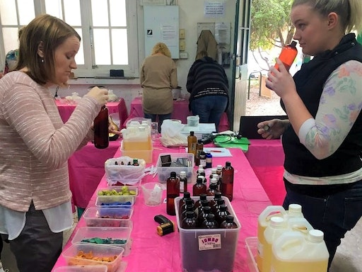 Candle making class (Photo credit to Soy Candles Melbourne)