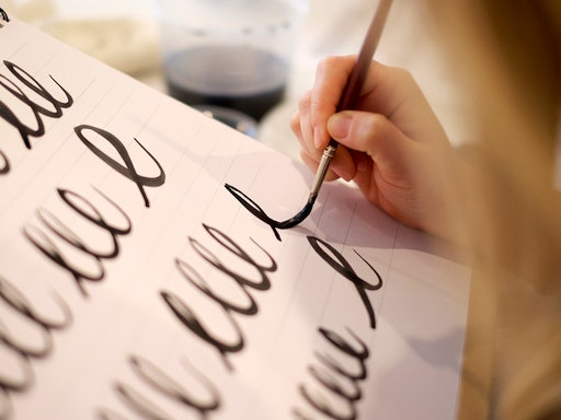 Brush Lettering with Barbara Enright