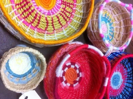 Introduction to Basket Weaving by Sew Make Create (Photo Credit to Sew Make Create)