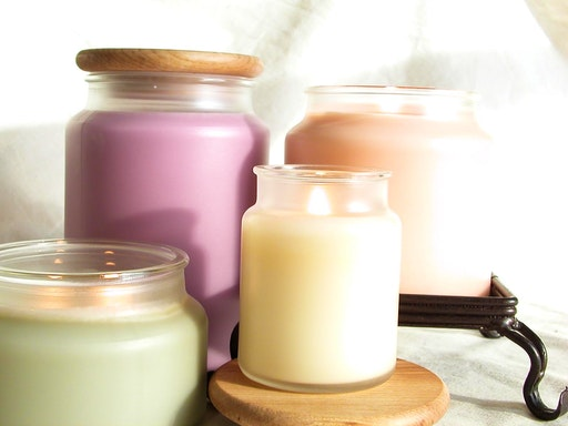 Soy candles have become the newest thing on the market because it offer a cleaner burning, natural base.