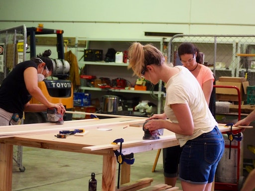 Introduction to Timber Construction and Power Tools at She Skills