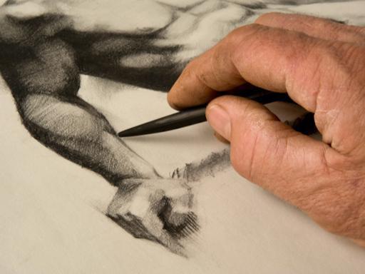 Beginners Drawing: Foundations at Art on King (Photo Credit: DavidBrown.Org)