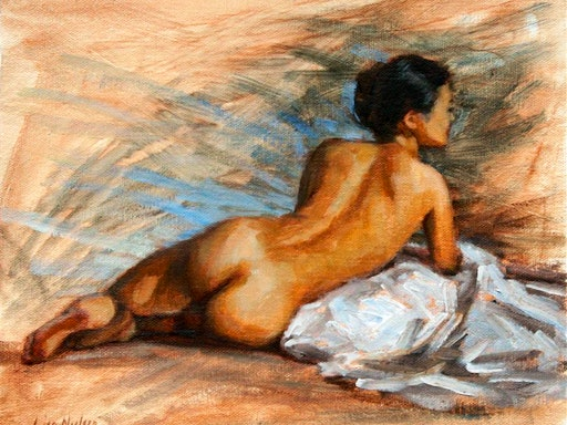 Painting The Nude Using Oils at Art on King (Photo Credit: U Gallery)