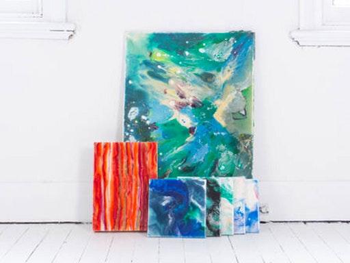 Resin Art Workshop - Chatswood NSW (Candu Creative)