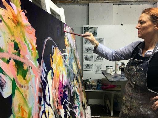 Art Class Sydney Painting on Wednesdays (Art Class Sydney)