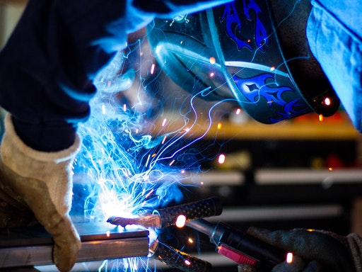 Welding for Beginners at Work-Shop