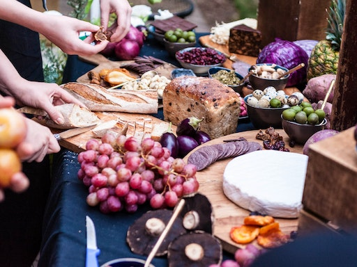 """""""I love when we inspire people to create less waste in their life when they see that we can put on a beautiful feast, a grazing table of cheese and beautiful organic fruit."""""""