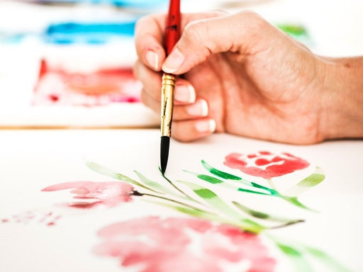 Introduction to Watercolour at Cass Deller Design