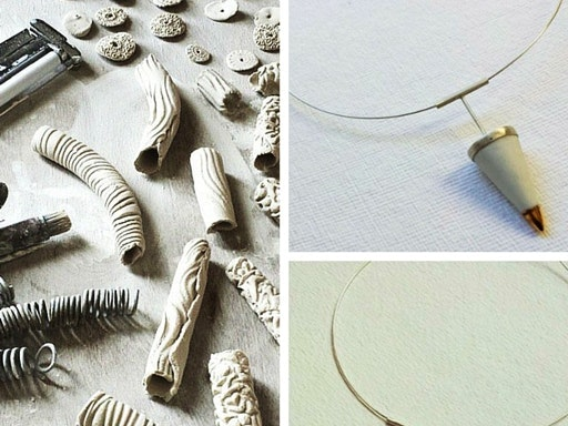Porcelain Wearables & Small Objects (8-Week Course with Pilar Rojas) at Slow Clay
