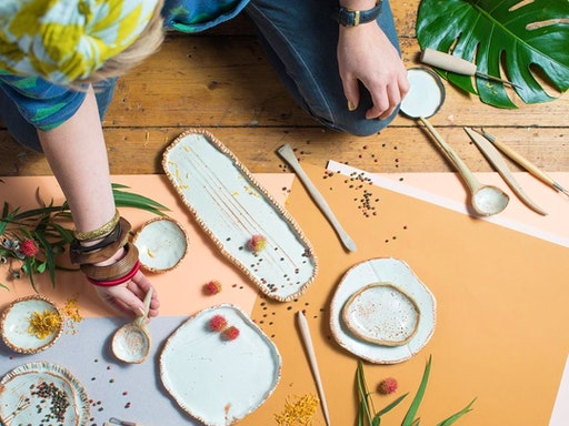 Ceramic Tableware Workshop with Sarah Schembri at Put Your Heart Into It