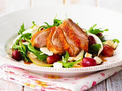 Warm Alfresco Duck Salad
