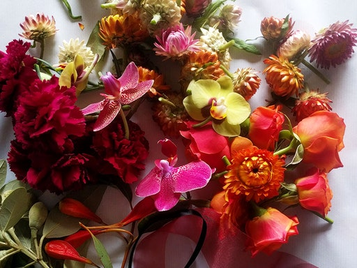 Wild Bouquet Making Workshop at Flos Botanical Studio