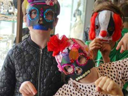 Arts and crafts classes provide hours of fun for parents and children.